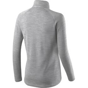 Houdini W's Wooler Halfzip Sweater College Grey